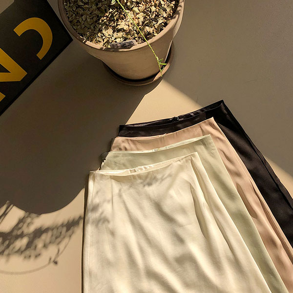 [CHUU] I Feel You Long Skirt